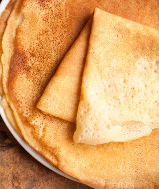 crepes sans gluten et sans lait