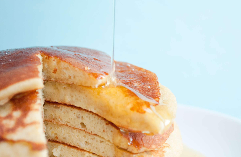 Pancakes sans gluten et sans lait