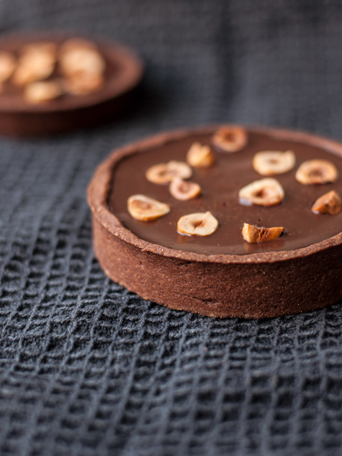 Tarte au chocolat d lice sans gluten - Tarte au chocolat sans oeuf ...