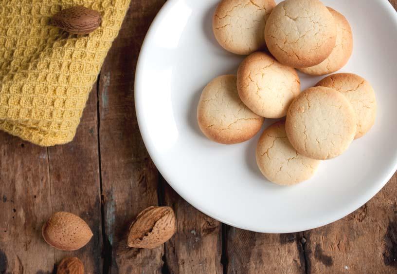 Biscuits A La Poudre D Amande Delice Sans Gluten